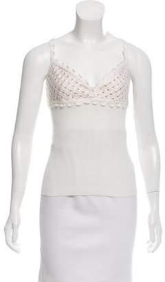 Valentino Sleeveless Knit Top w/ Tags