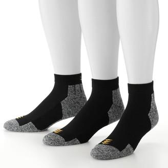 PowerSox By Goldtoe Men's by GOLDTOE 3-pack Power-Lites Low-Cut Socks