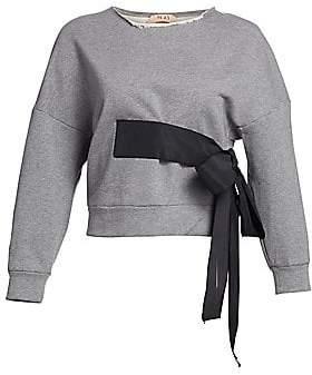 No.21 No. 21 No. 21 Women's Side Bow Sweatshirt