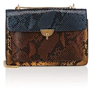Dries Van Noten Women's Snake-Embossed Leather Crossbody Bag