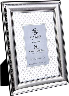 """Carrs of Sheffield Silver Sterling Silver Sprig Photo Frame (7""""x5"""")"""