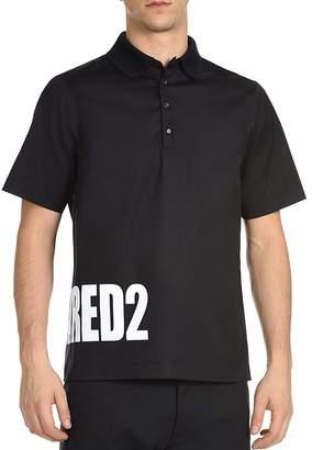 DSQUARED2 Wraparound Logo Polo Shirt