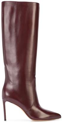 Francesco Russo knee high boots