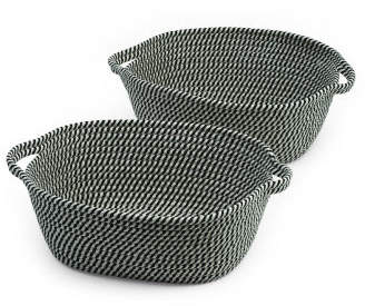 Set Of 2 Tapered Storage Baskets