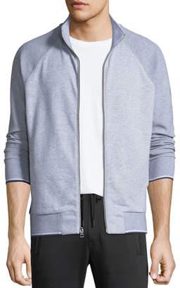 Michael Kors Men's Textured Zip-Front Raglan Jacket