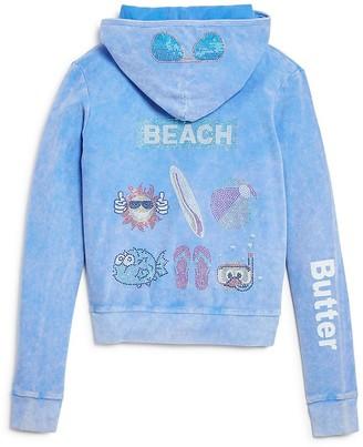 Butter Girls' Beach Hoodie - Little Kid $68 thestylecure.com