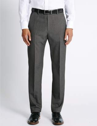 Marks and Spencer Big & Tall Regular Fit Flat Front Trousers