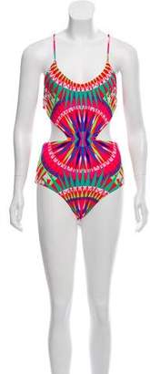 Mara Hoffman One-Piece Cutout Swimsuit w/Tags