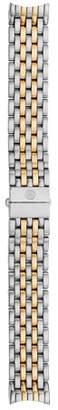 Michele 16mm Serein Two-Tone Bracelet Strap