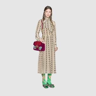 Gucci GG Marmont medium velvet bag