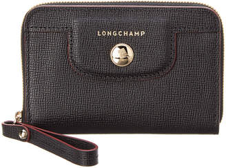 Longchamp Le Pliage Heritage Leather Coin Case