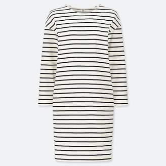 Uniqlo Women's Striped Long-sleeve Dress