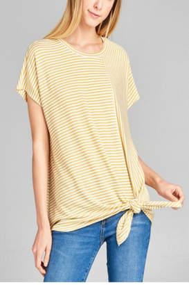 99580855cd at Shoptiques · Cotton Bleu Stripe Sailor Tee