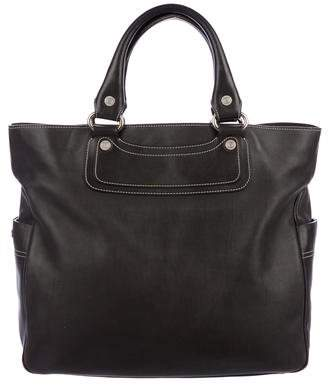 Celine Smooth Leather Tote