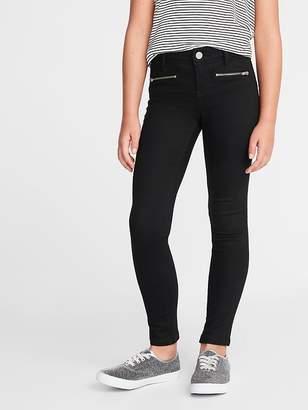 Old Navy Ballerina Zip Faux-Pocket Jeggings for Girls