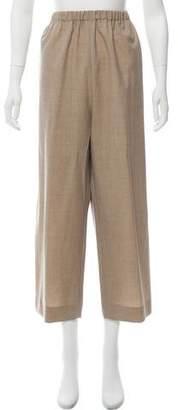 eskandar High-Rise Straight-Leg Pants