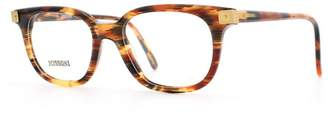 Missoni 866 A52 Red and Black and Brown Authentic Women Vintage Eyeglasses Frame