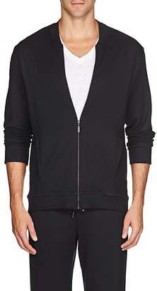 Hanro Men's Stretch-Jersey Zip-Front Sweatshirt