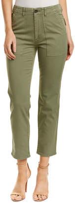 AG Jeans Wes Sulfur Olive Utilitarian Straight Leg