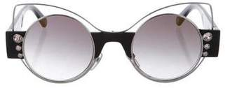 Marc Jacobs Round Gradient Sunglasses w/ Tags