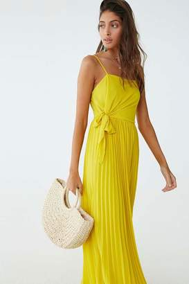 Forever 21 Pleated Maxi Dress