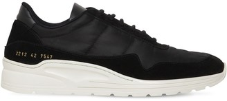 Common Projects Cross Trainer Leather & Nylon Sneakers