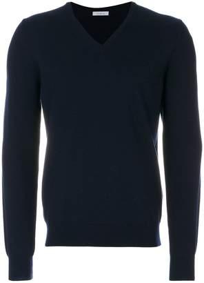 Malo classic V-neck pullover