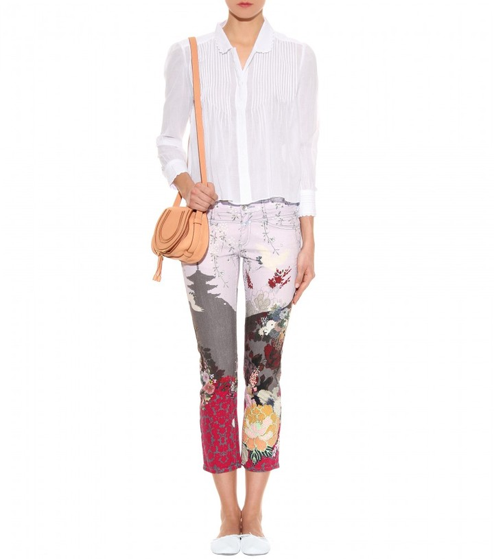 Closed STARLET STRAIGHT-LEG CROPPED JEANS