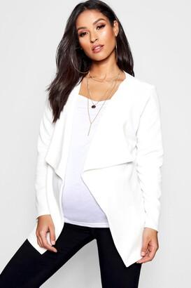 boohoo Maternity Waterfall Jacket