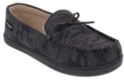 Isotoner Woven Brett Moccasin Slippers