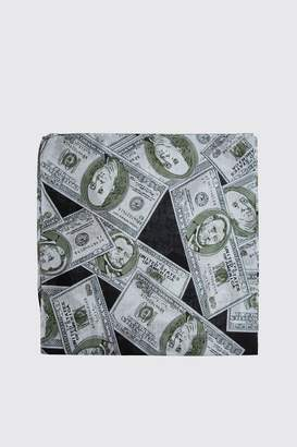 Dollar Bill Print Bandana