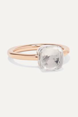 Pomellato Nudo Petit 18-karat Rose Gold Topaz Ring