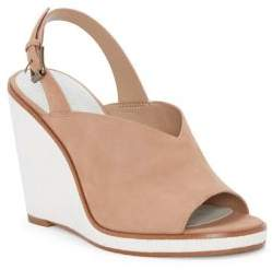 1 STATE 1.STATE Genna Suede Wedge Mules