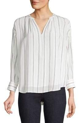 Joie Toril Striped Blouse