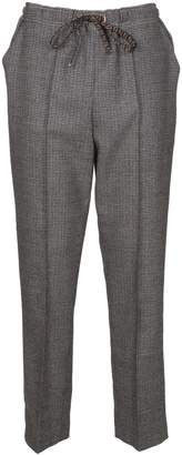 Fendi Micro Check Trousers