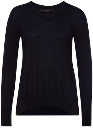 Steffen Schraut Knit Pullover with Pleated Back