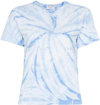 Collina Strada tie-dye pierce detail T-shirt