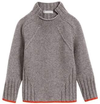 Burberry Merino Wool Blend Turtleneck Sweater