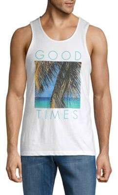 Good Times Palm Cotton Tank Top