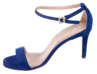 Barneys New York Barney's New York Suede Ankle Strap Sandals w/ Tags