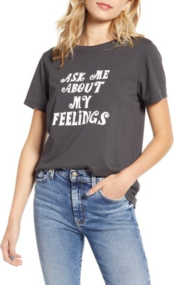 ban.do Ask Me About My Feelings Tee
