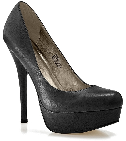 Zigi Soho Staple Pump - Black Leather