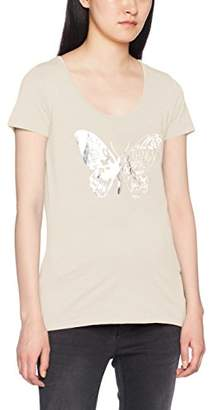Mama Licious Mamalicious Women's MLOCEAN S/S Jersey TOP A V T-Shirt,(Size: L)