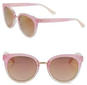 Sam Edelman 51MM Ombre Round Sunglasses