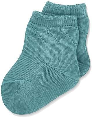 NECK & NECK Girl's Calcetines Niña Socks, Dark Green/Verde Oscuro/MANZANA 72