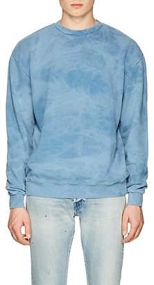 John Elliott Men's Tie-Dyed Cotton Terry Sweatshirt