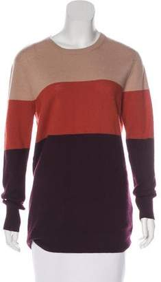 Equipment Colorblock Cashmere Sweater
