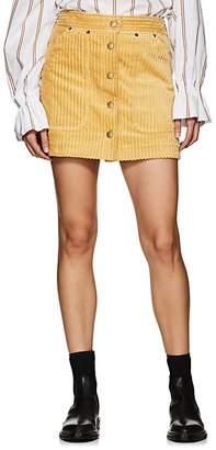 SAM. Land of Distraction Women's Wide-Wale Corduroy Miniskirt