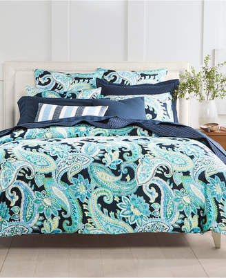 Charter Club Closeout! Damask Designs Multi Paisley 300-Thread Count 2-Pc. Twin Comforter Set