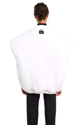 Alpha Industries Vetements × Quilted Oversized Bomber Vest